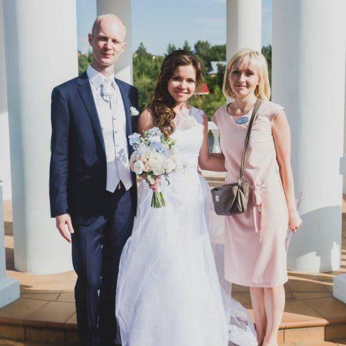 личный помощник молодоженов на свадьбе