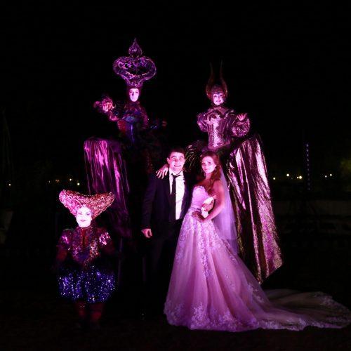 театр огня на свадьбу