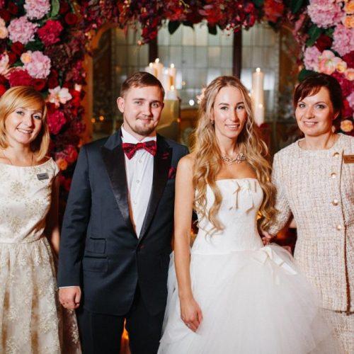 Профессиональная команда свадебных координаторов