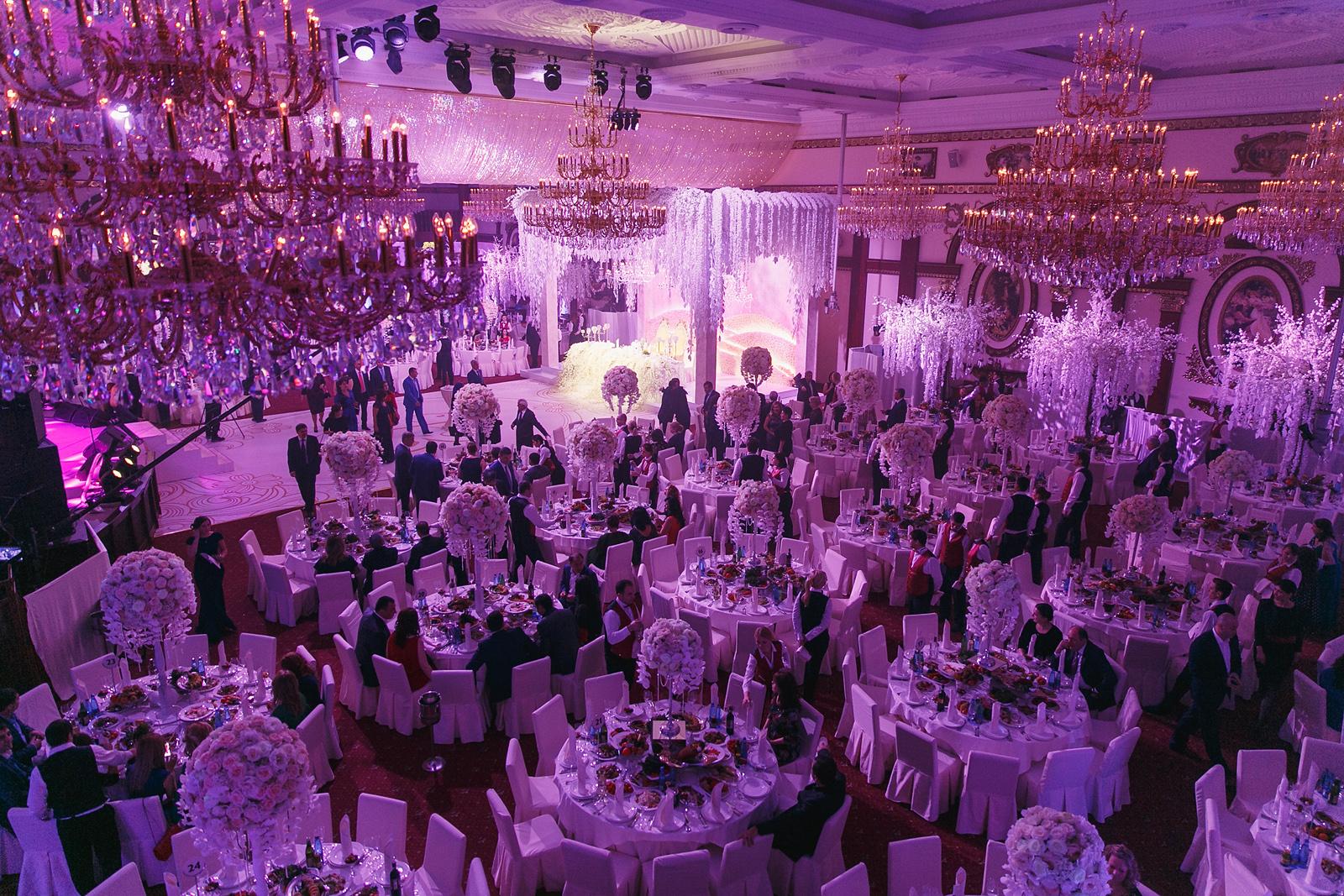 свадьба в Европейском