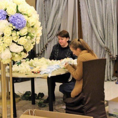координация свадьбы - работа декораторов