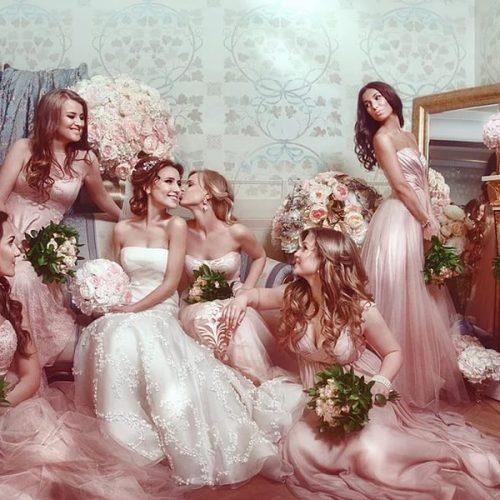 Подружки невесты и их платья