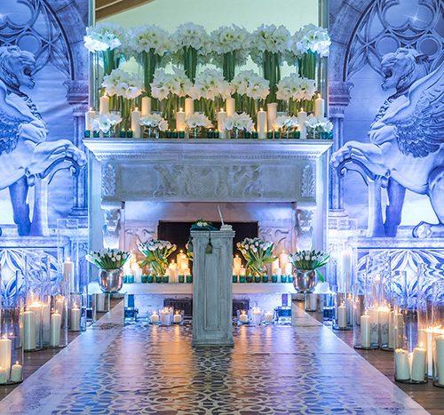 декоративное оформление зала на свадьбу