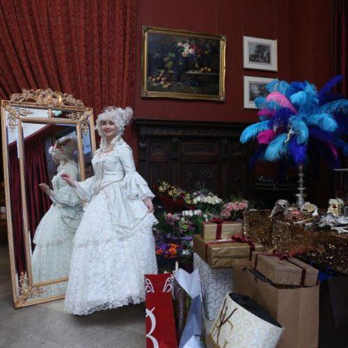 свадьба в стиле карнавала