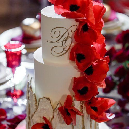 #свадебныйторткрасный